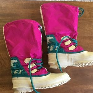 Vintage Sorel Hand Crafted Winter Snow Boot